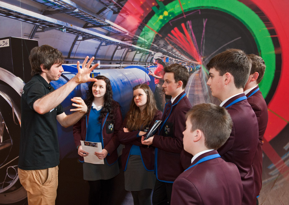 Exploring the Large Hadron Collider at Dynamic Earth day 5