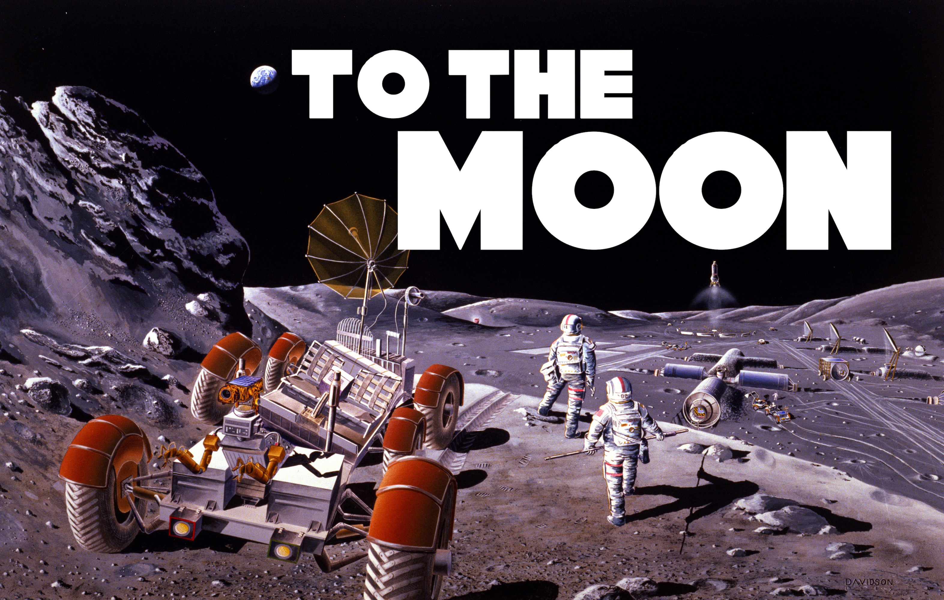 Festival of Physics: To the Moon!